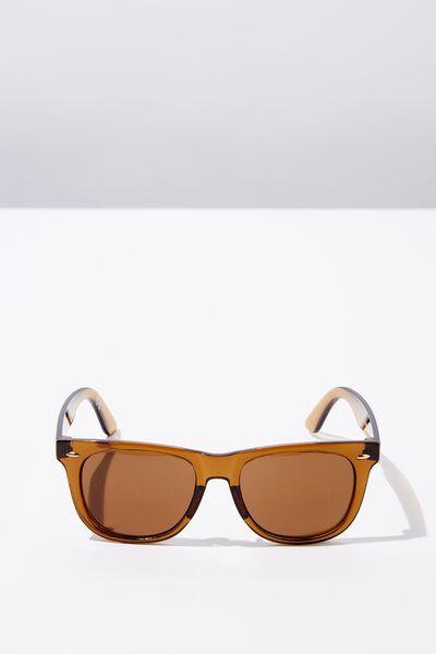 Bueller Sunglasses, CRYSTAL CUMIN/SMK