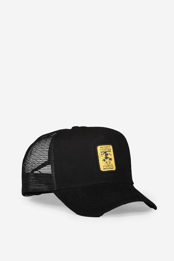 Mickey Trucker Hat, BLACK/HAHA MICKEY