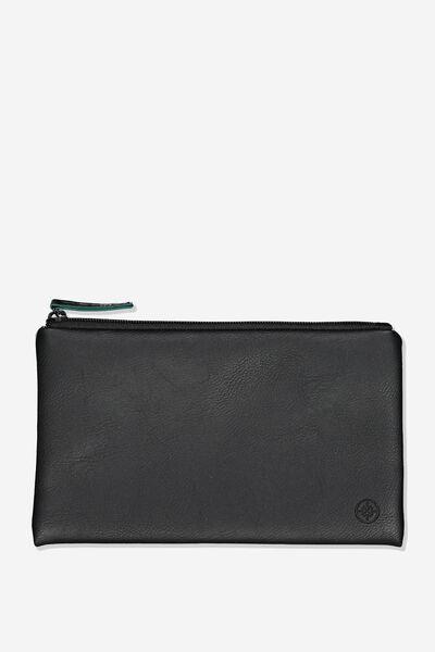 Berlin Pencil Case, BLACK