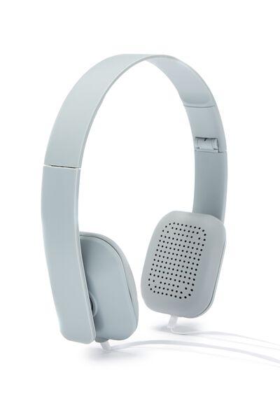 Classic Headphone, PALE GREY