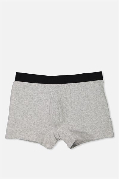 Single Pack Trunks, GREY MARLE/HULA GIRLS