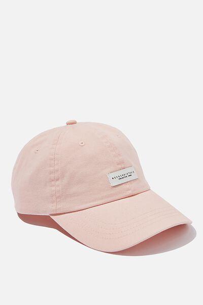 Strap Back Dad Hat, PEACH/WEEKEND STUDIO