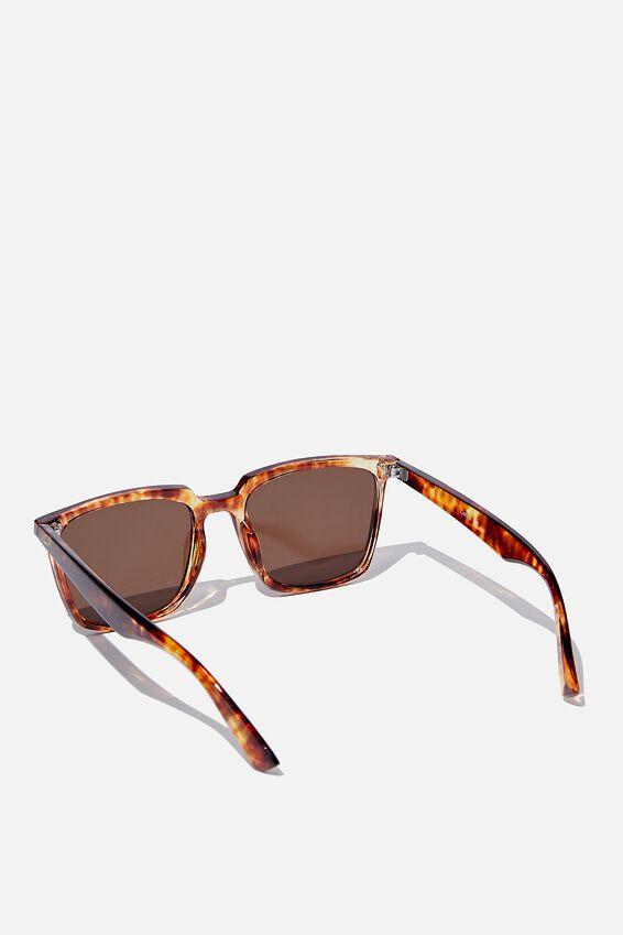 Newtown Sunglasses, AMBER TORT