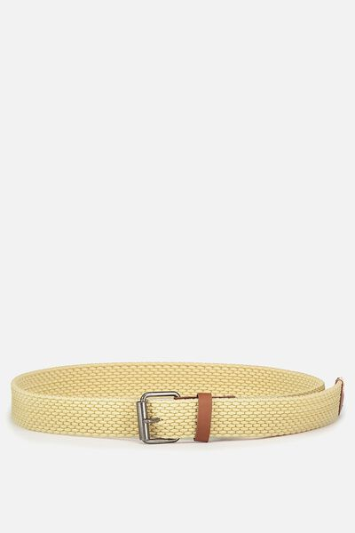 Hampton Plait Belt, SAND