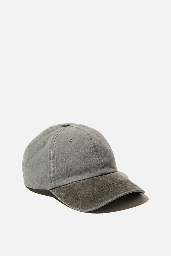Blank Dad Hat, TT WASHED BLACK