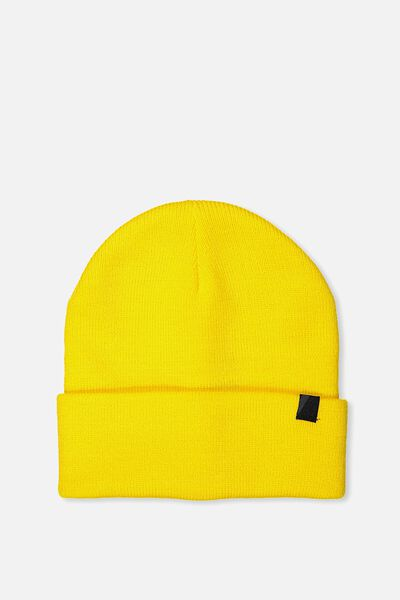 Compton High Beanie, YELLOW