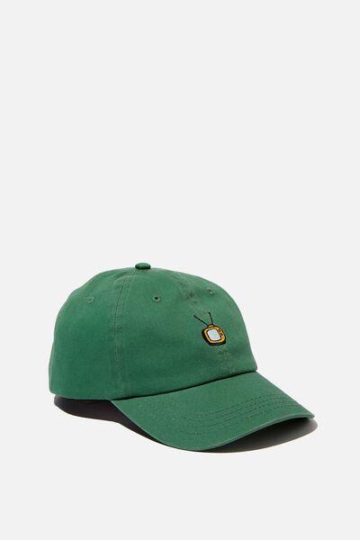 Strap Back Dad Hat, LC FOX/GREEN FAMILY GUY TV