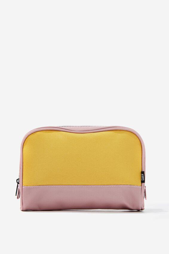 Transit Cos Bag, DUSTY BLUSH/MUSTARD