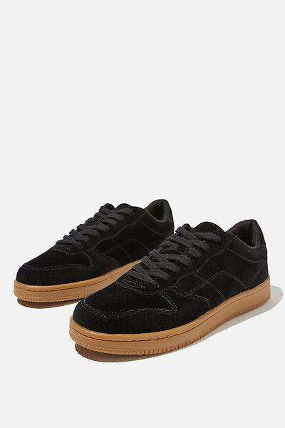 Hayward Clean Sneaker, BLACK/GUM