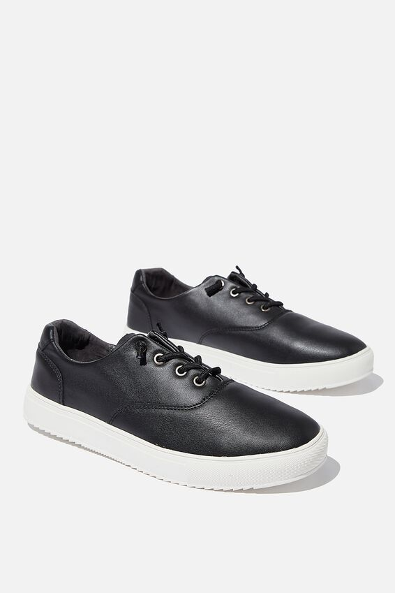 Higgins Trainer, BLACK/WHITE