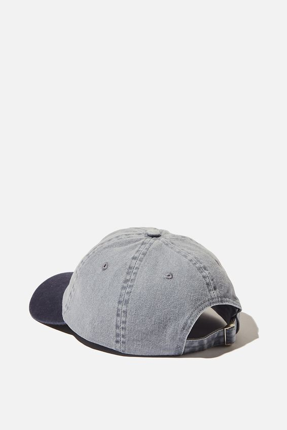 Blank Dad Hat, TT WASHED BLUE
