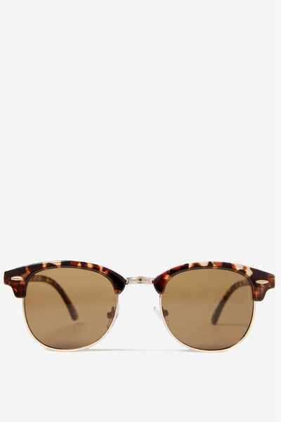Smooth Operator Sunnies, TORT GOLD