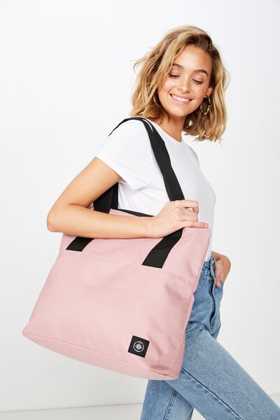 Transit Tote, DUSTY BLUSH