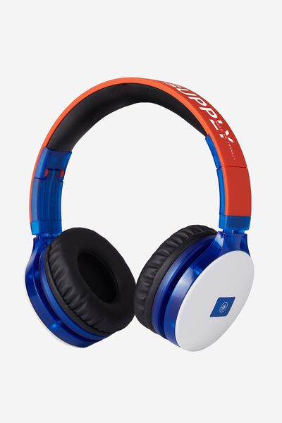 Lost Bluetooth Stereo Headphone, BLUE/WHITE/BLACK
