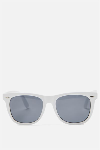 Ferris Sunnies, MATTE WHITE/SMK BLACK