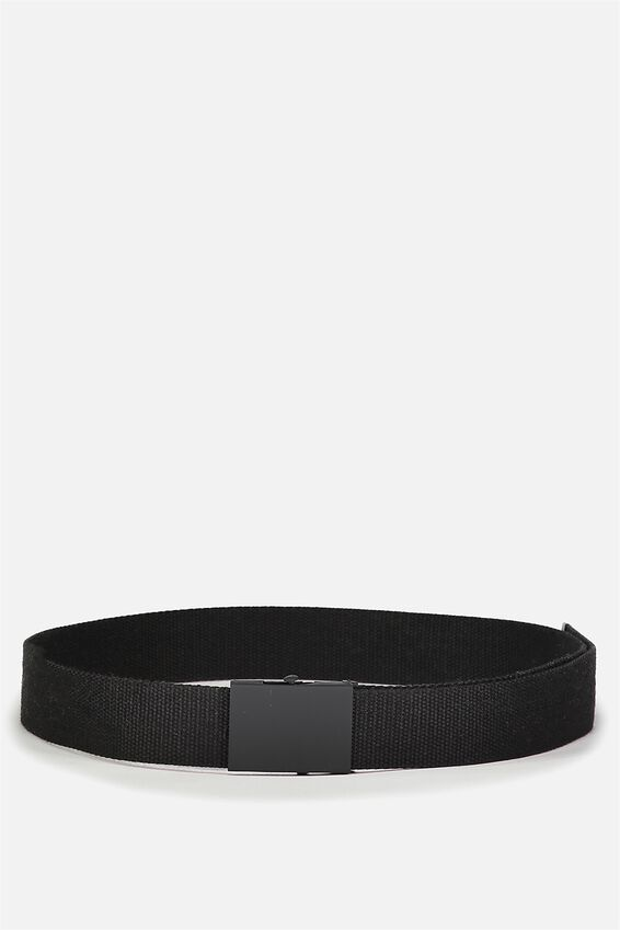 Portland Web Belt, BLACK