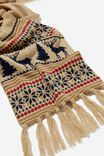 Chill Out Scarf, SAND MARLE/ALASKA