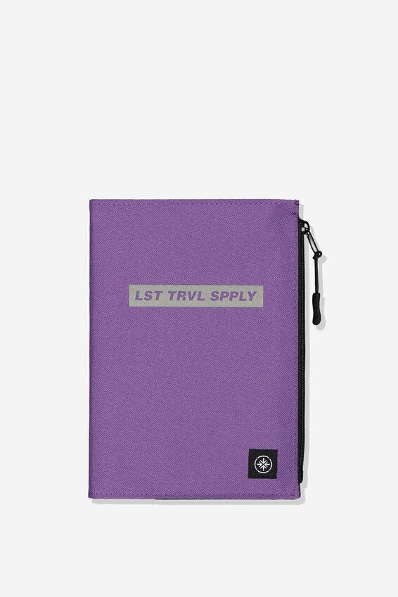 Transit Notebook, LST TRAVEL SUPPLY PURPLE
