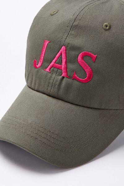 Personalised Classic Cap, KHAKI