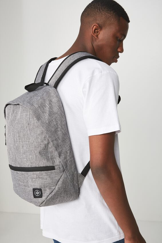 Transit Backpack, GREY CROSSHATCH