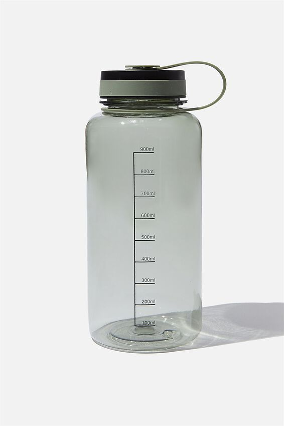 1 Litre Drink Bottle, KHAKI