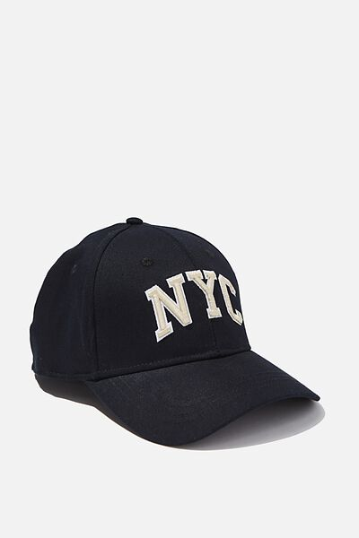 Outfield Fitted Cap, NAVY/SAND/NYC