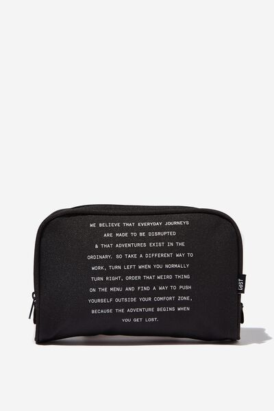 Transit Cos Bag, BLACK MANIFESTO