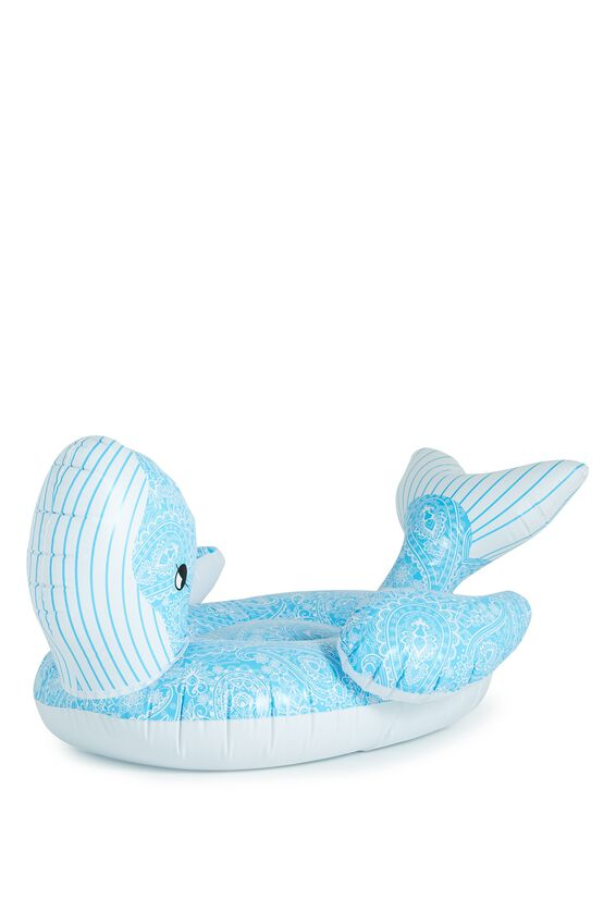 Cotton On Large Paisley Whale Pool Float