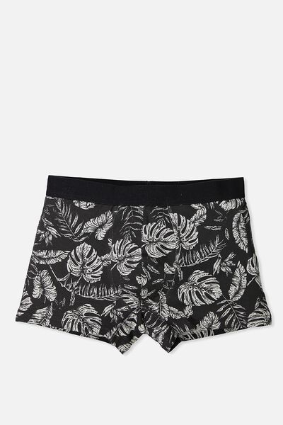 Single Pack Trunks, GREY MARLE/MONO PALM