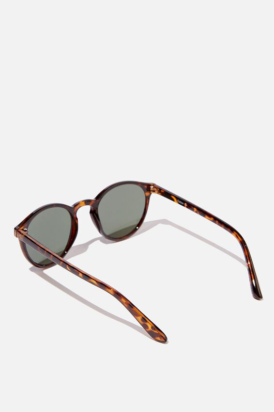 Lorne Sunglasses, TORT/GREEN