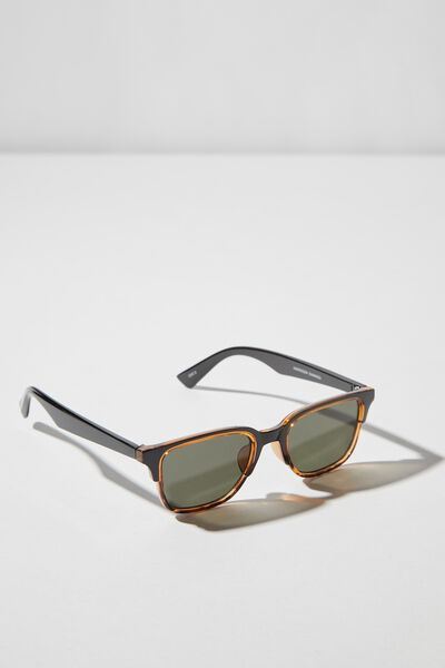 Harrison Sunglasses, BLACK/TORT