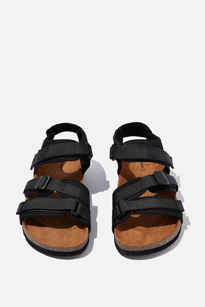 Azuma Sandal, BLACK/BLACK
