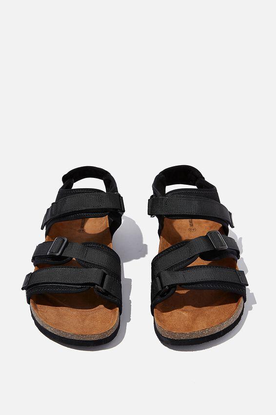 Azuma Sandal, BLACK BLACK