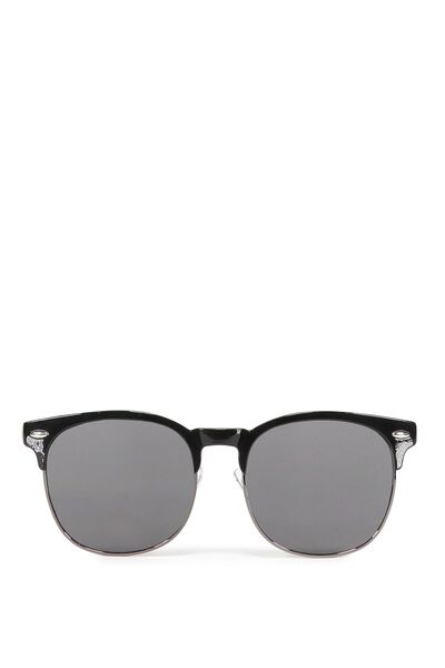 Rhode Sunnies, BLACK/SMOKE