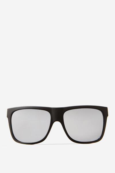 Tommy Flat Top Sunglasses, MATTE BLACK