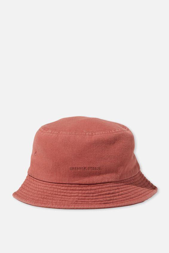 Bucket Hat, DUSTY ROSE/WEEKEND STUDIO