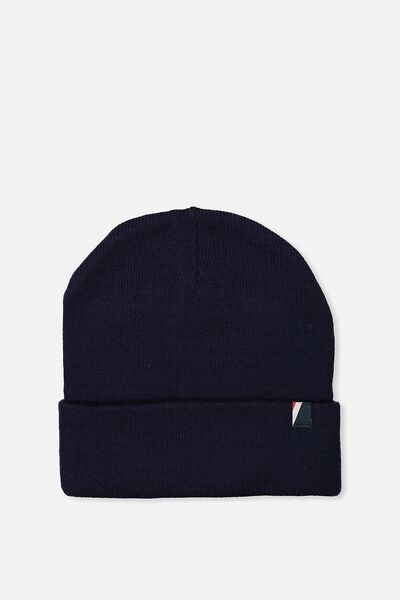 High Top Beanie, NAVY