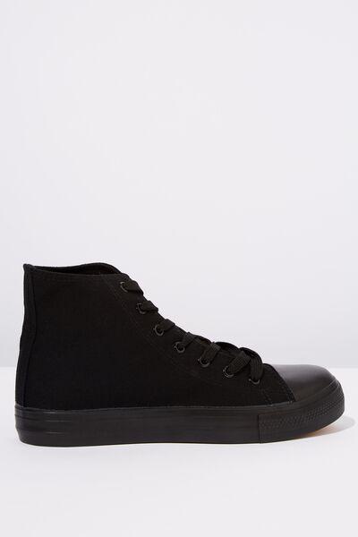 Tyler Hi-Top, BLACK/BLACK