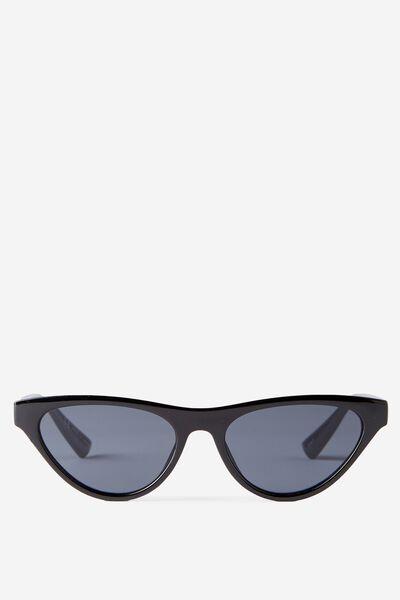 East Side Sunglasses, BLACK