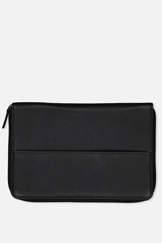 Family Travel Wallet, BLACK