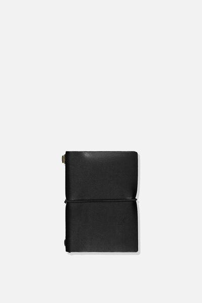 A6 Journal, BLACK