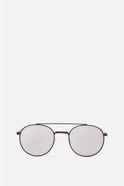 Austin Sunnies, BLACK/SILVER MIRROR