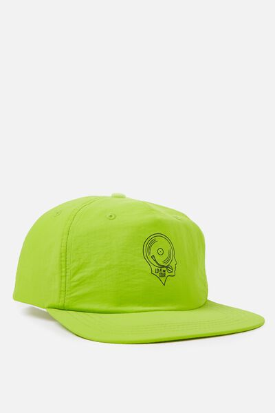 Art Snapback, FLURO GREEN/LO FI TOUR