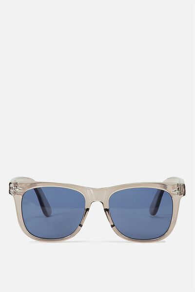 Bueller Sunnies, GREY CRYSTAL/ BLUE MONO