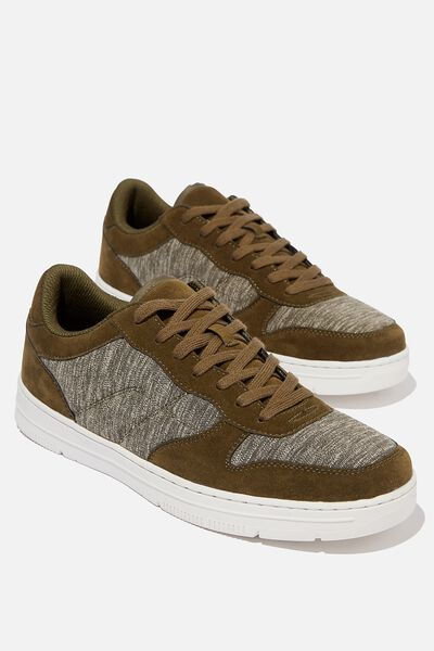 Hayward Clean Sneaker, KHAKI/KHAKI MARLE/WHITE