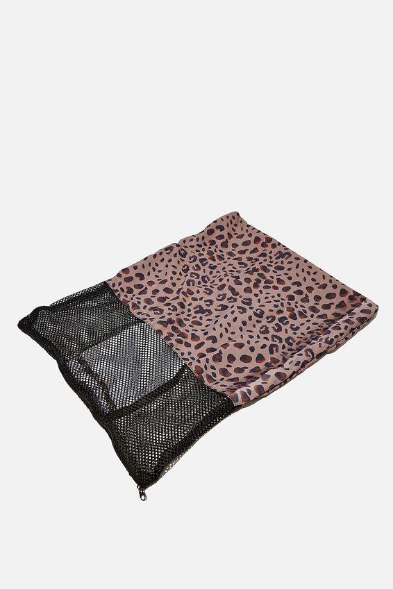 Laundry Bag, LEOPARD SPOT