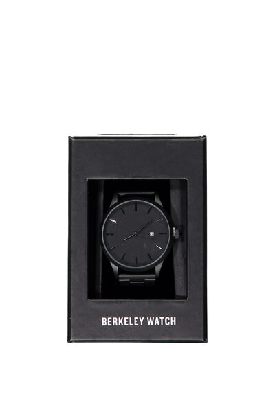 Berkeley Watch, GUNMETAL POWDER COATED
