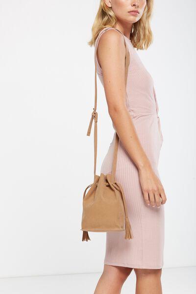 Serena Bucket Bag, NEUTRAL
