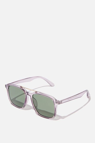 Armstrong Sunglasses, GREY/SILVER/GREEN