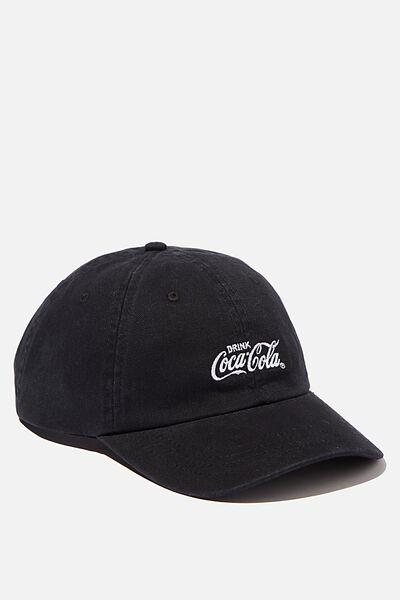 Special Edition Dad Hat, LCN COK BLACK/WHITE/COCA COLA
